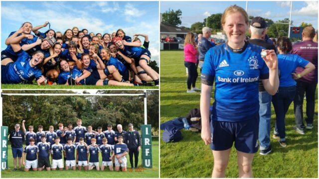 Leinster Rugby U-18s and Portlaoise RFC U-17s