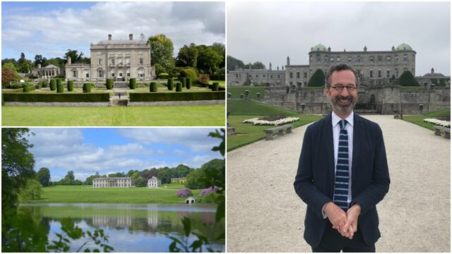 Ireland's Historic Gardens airs on RTE One on Sunday evening - and there will be significant Laois interest