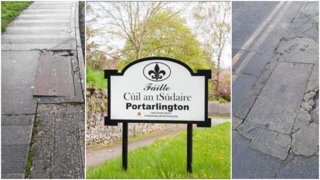 Portarlington footpath